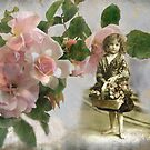 Victorian Flower Girl by picketty