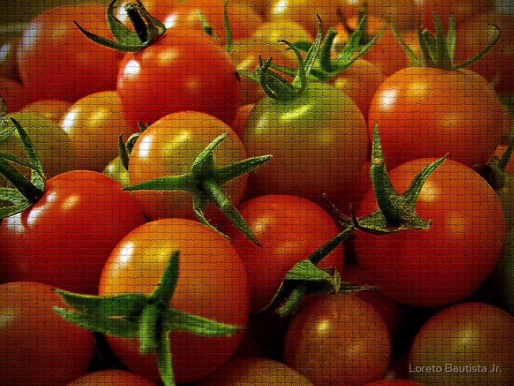 tomatoes by Loreto Bautista Jr.
