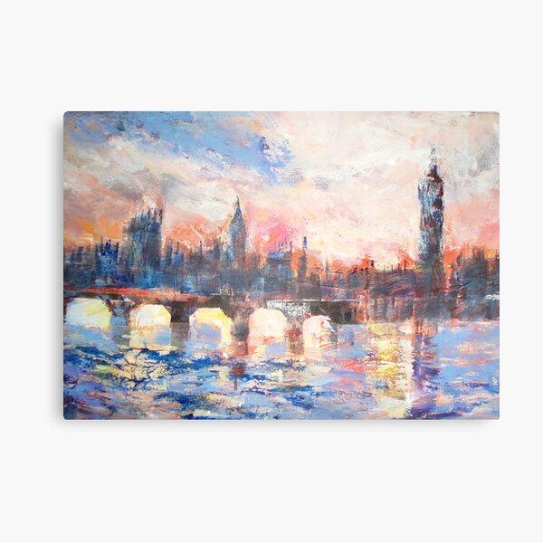 Colourful London Canvas Print