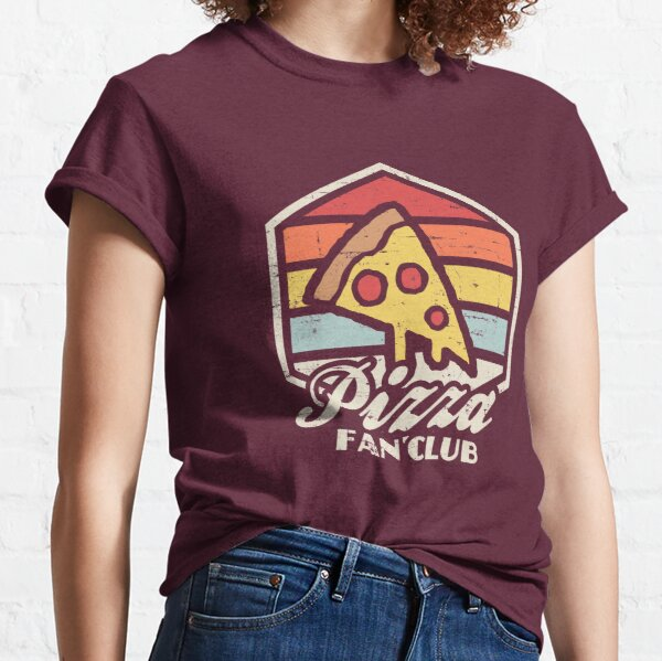 Pizza fan club  Classic T-Shirt