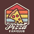 Pizza fan club  by artlahdesigns