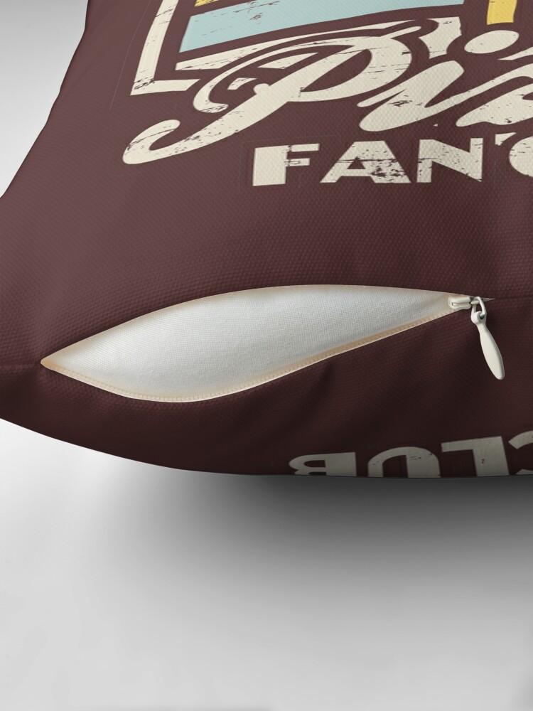 Alternate view of Pizza fan club  Floor Pillow