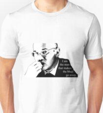 I am the man that makes the bhaji go away. - Julius Nicholson Inspirational Quote Unisex T-Shirt