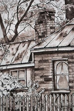 Over the Fence- Sofala II by Leanne  Jones