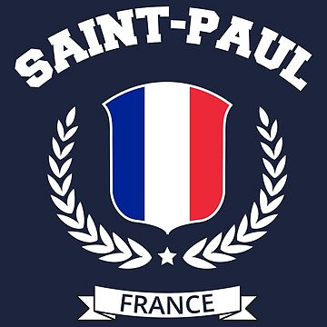 Saint-Paul France T-shirt by SayAhh