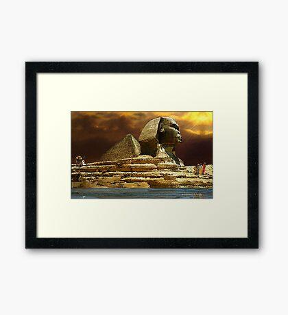 Sphinx Magic Framed Print