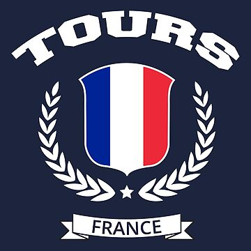 Tours France T-shirt by SayAhh
