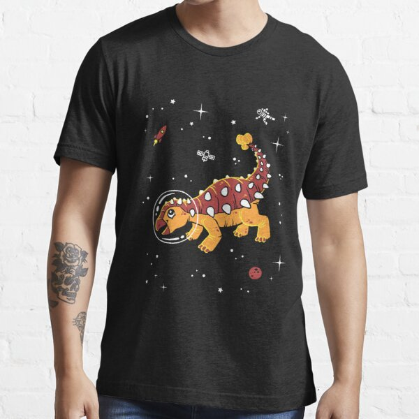 Ankylosaurus In Space T-Shirt - Cool Dinosaur Tee Essential T-Shirt