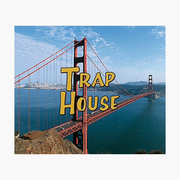 Full House Trap House Photographic Print