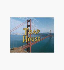 Full House Trap House Art Board Print