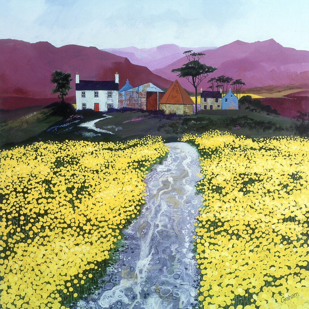 Yellow Fields by Graham Clark