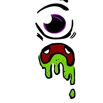Scary Eyeball Eye by Shirteesy