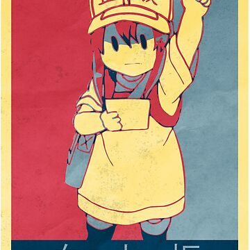 Platelet - Cells At Work Poltical | Anime Shirt by mzethner