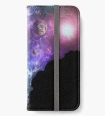 Elon Musk smoking outerspace weed iPhone Wallet/Case/Skin