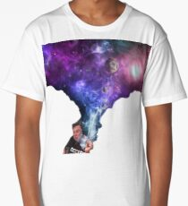 Elon Musk smoking outerspace weed Long T-Shirt