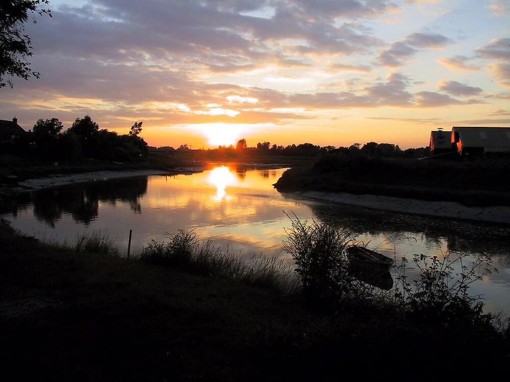 Maldon Sunset by Shon Ellerton
