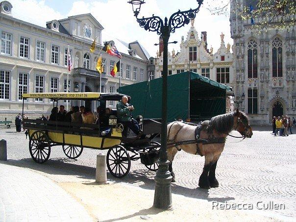 Bruges, Belgium by Rebecca Cullen