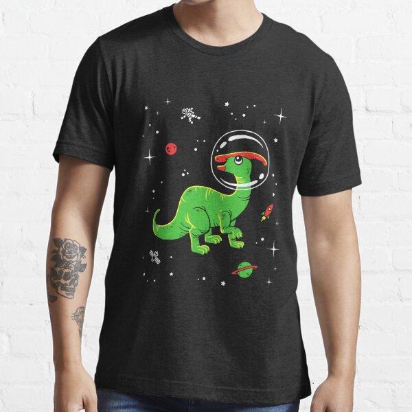 Parasaurolophus In Space T-Shirt - Cool Dinosaur Tee Essential T-Shirt