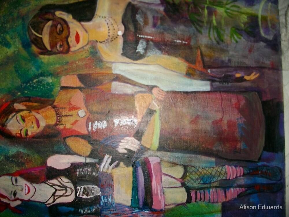 teen goths by Alison Edwards