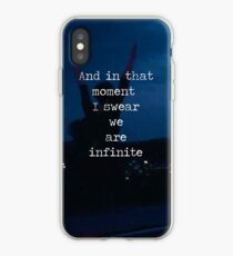 We Are Infinite--The Perks of Being a Wallflower iPhone Case