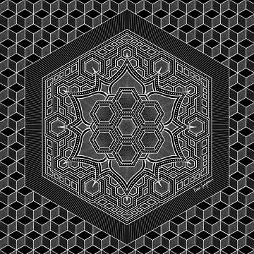 """""""July Mandala"""", by Brock Springstead by springstead"""
