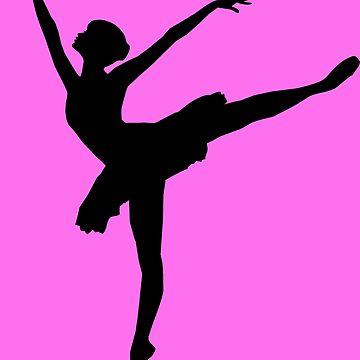 Ballerina Silhouette by realmatdesign