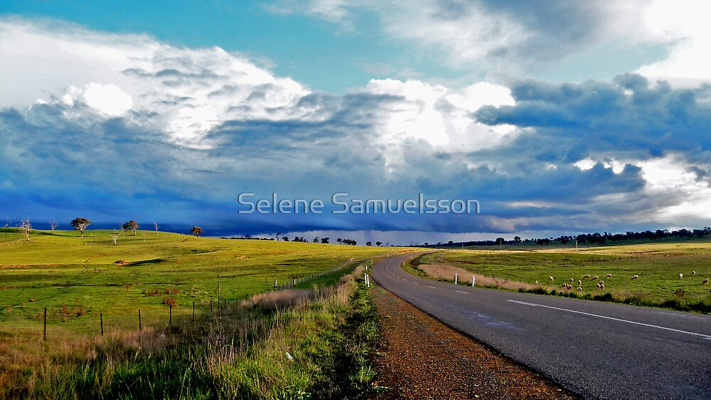 Driving Into The Storm by Selene Samuelsson