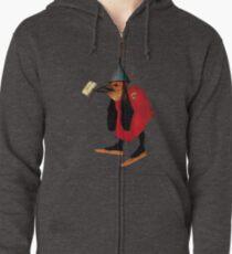 Bosch Bird with Letter Zipped Hoodie