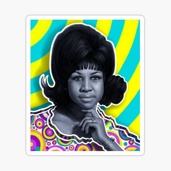 Aretha - Queen of Soul Sticker