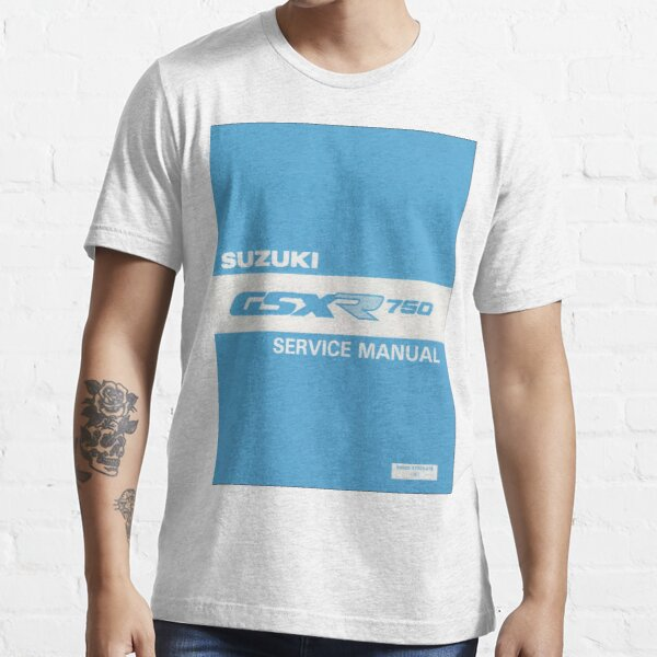 Suzuki GSXR 750 user manual Essential T-Shirt