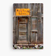 Rusty Saloon Canvas Print