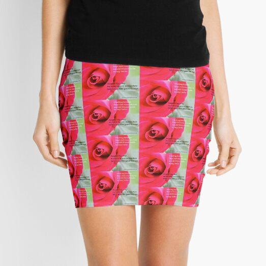 Hold On  Mini Skirt