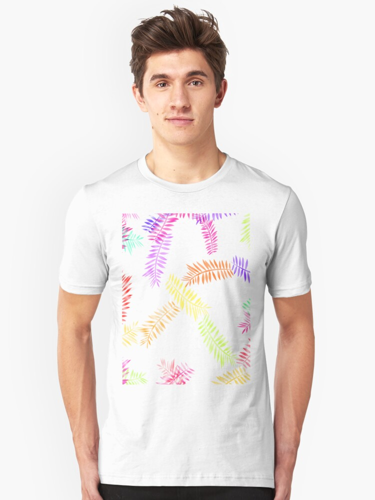 Ferns on the Fringe T-Shirt Unisex T-Shirt Front