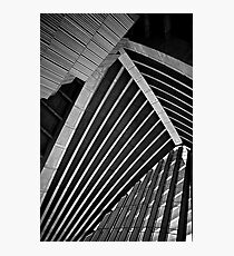 Inside the Sydney Opera House Photographic Print