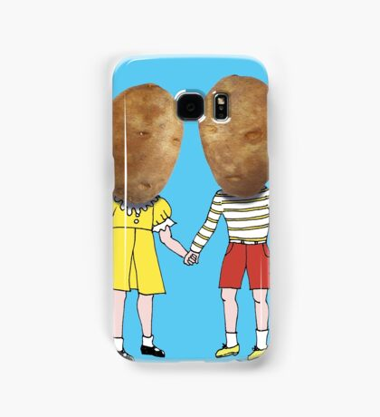small potatoes Samsung Galaxy Case/Skin