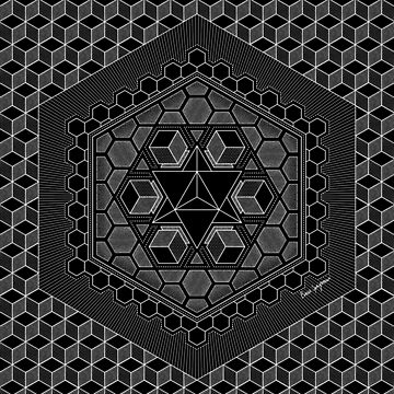"""March Mandala 2018"", by Brock Springstead by springstead"