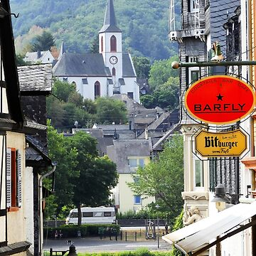 Trarbach as seen from Traben by aapshop