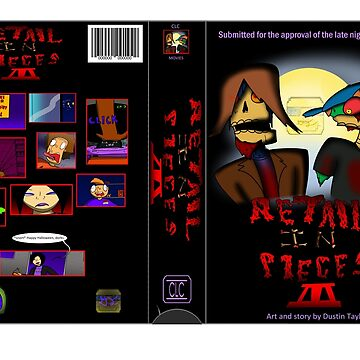Retail In Pieces Year 3 VHS Cover by RetailTheComic