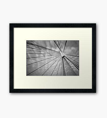 ANZAC Bridge Framed Print