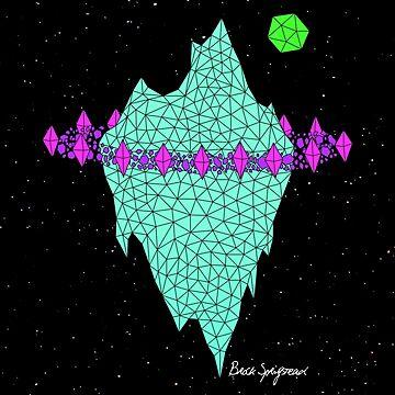 """""""Spaceberg"""", by Brock Springstead by springstead"""