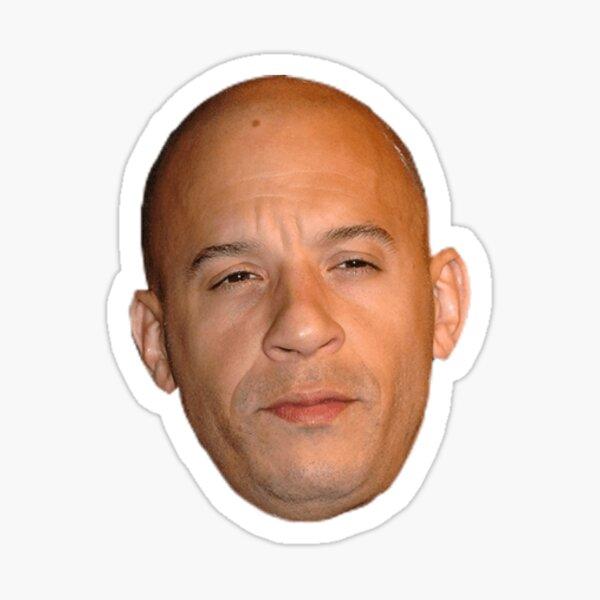 Vin Diesel Sticker
