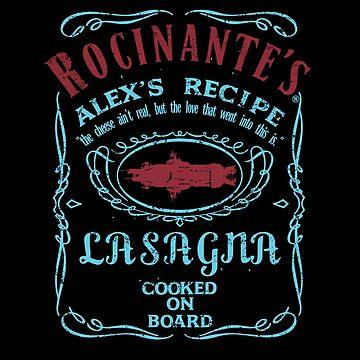 ROCINANTE'S ALEX LASAGNA  by karmadesigner