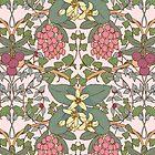 Winter Flowers II by Feroniae