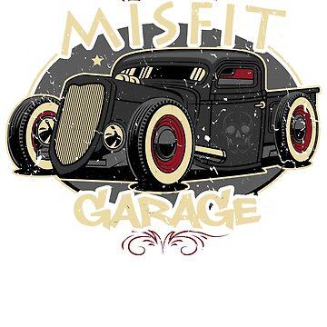 Misfit Garage Hot Rod by ryanturnley