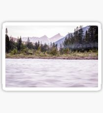 Canadian Rockies Sunrise Sticker