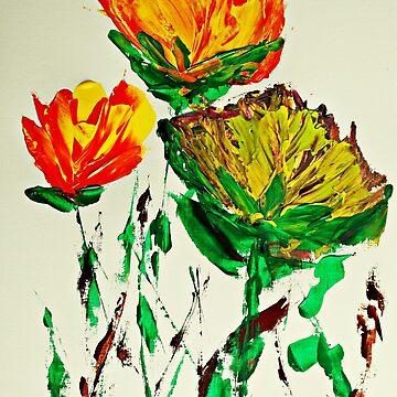 Tre Blomstrer by ditempli