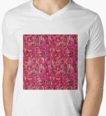 "Charles Rennie Mackintosh ""Roses and teardrops"" edited 1. Men's V-Neck T-Shirt"