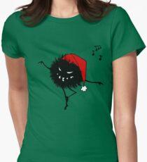 Evil Christmas Bug T-Shirt Women's Fitted T-Shirt