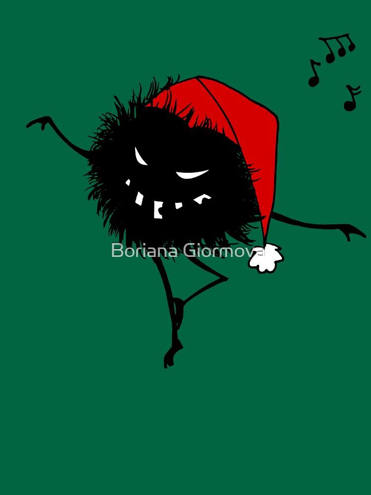 Evil Christmas Bug T-Shirt by azzza