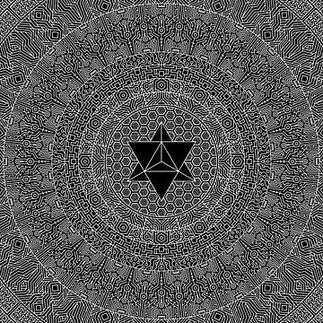 """""""Orbit Mandala"""", by Brock Springstead by springstead"""